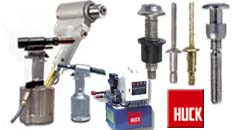 Huck brand fastening and tooling